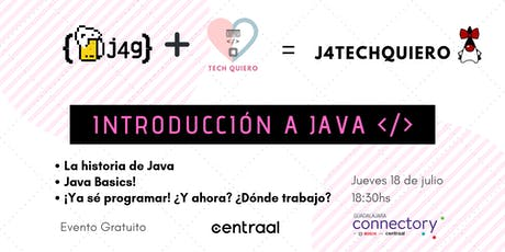Meetup Introducción a Java - J4TechQuiero entradas