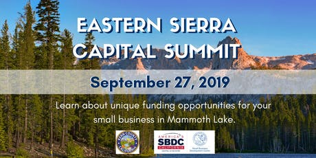 Eastern Sierra Capital Summit tickets