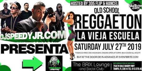 Old School Reggaeton @ The Brix Lounge w/ DJ Speedy Jr tickets