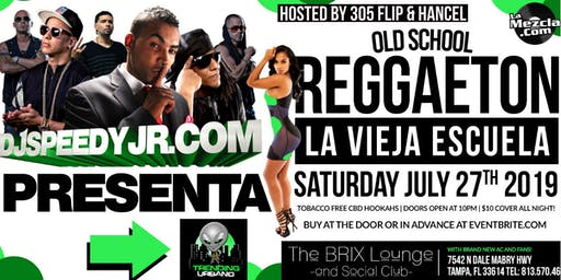 Old School Reggaeton @ The Brix Lounge w/ DJ Speedy Jr
