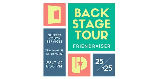 Sunset Youth Services Back-Stage Tour Friendraiser
