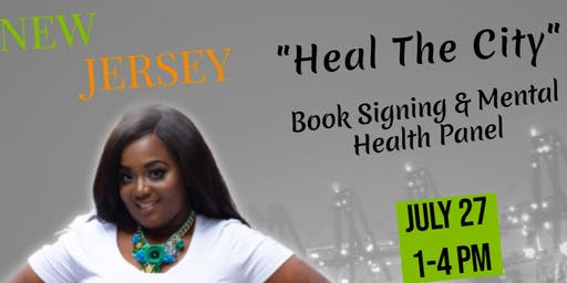 Heal The City: Book Signing With T-Kea Blackman & Mental Health Panel