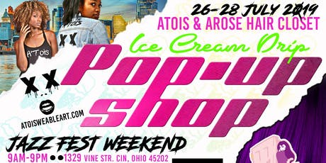 A&A Ice Cream Drip Pop-Up tickets