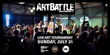 Art Battle Amsterdam - 21 July, 2019 tickets