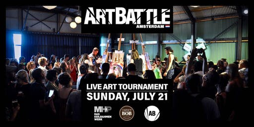Art Battle Amsterdam - 21 July, 2019