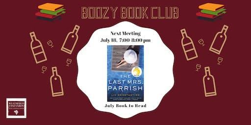 July Boozy Book Club