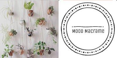 #imadeitmyself  -  macrame plant hanger with Mood Macrame