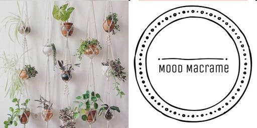 #imadeitmyself  -  macrame plant hanger with Mood Macrame