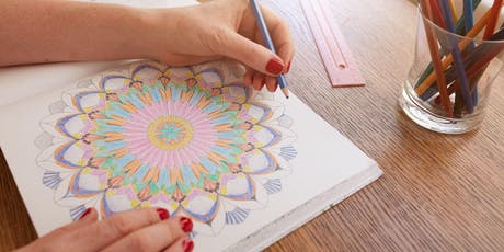 Colouring Calm - Tiaro Library tickets