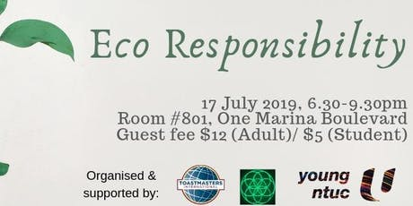 Eco Responsibility tickets