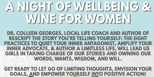 A Night of Wellbeing & Wine for Women with Author