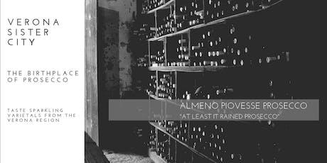 Verona Sister City - Veneto Prosecco Experience  tickets