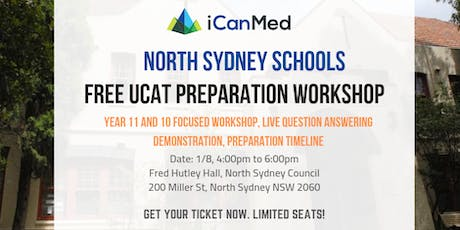 Free North Sydney UCAT Workshop (Year 11 & 10 Exclusive) tickets