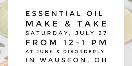 Essential Oil Make & Take tickets