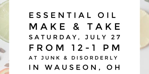 Essential Oil Make & Take