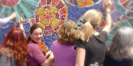Garden Mosaic Workshop, two days, July 27th & 28th tickets