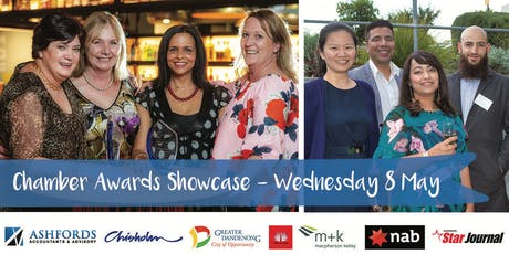 Greater Dandenong Chamber Business Awards August Showcase tickets