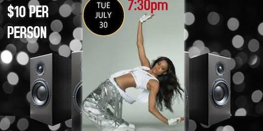 Ciara Dance Class