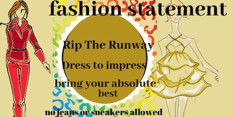 Fashion statement  tickets