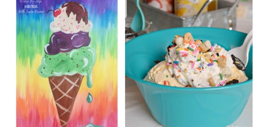 Paint Icecream Cone Then Make A Sundae