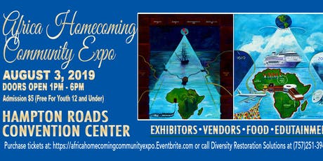 AFRICA HOMECOMING COMMUNITY EXPO tickets