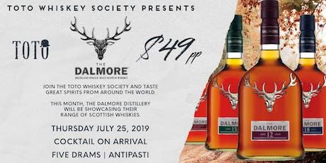 Toto Whiskey Society - The Dalmore tickets