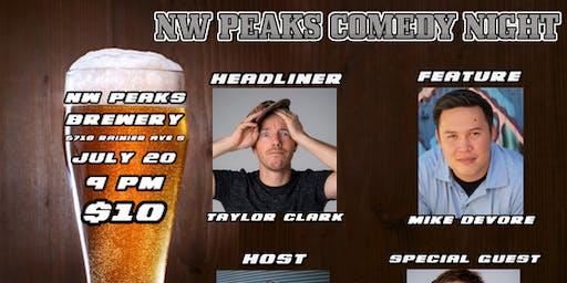 NW Peaks Comedy Night