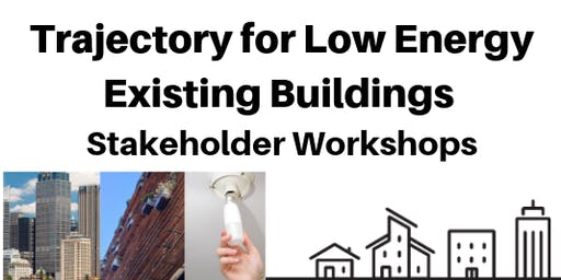 Trajectory for Low Energy Existing  Buildings - Melbourne workshop