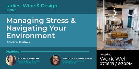 Managing Stress & Navigating Your Environment - Conversation for Creatives tickets