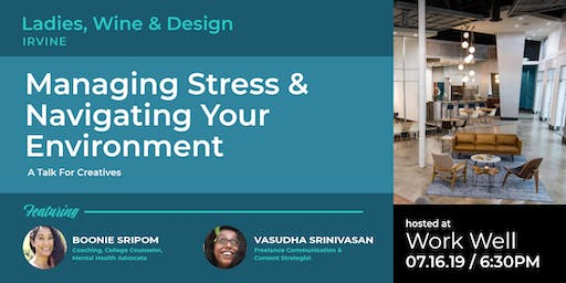 Managing Stress & Navigating Your Environment - Conversation for Creatives