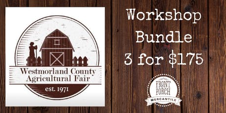 Bundle - Workshops at the Fair! tickets