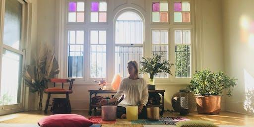 August Full Moon: Yoga Nidra Meditation and Sound Healing
