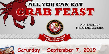 Seat Pleasant Volunteer Fire Co. - Annual Crab Feast tickets