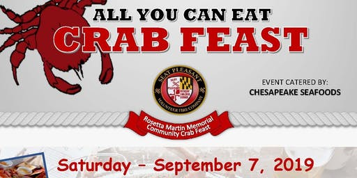 Seat Pleasant Volunteer Fire Co. - Annual Crab Feast