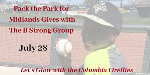 Pack The Park with The B Strong Group