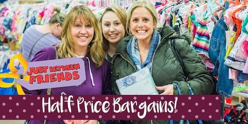 Half Price Presale Ticket - JBF Maple Grove - Fall 2019