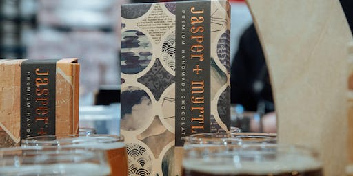 Beer & Chocolate Pairing | Capital Brewing x Jasper & Myrtle