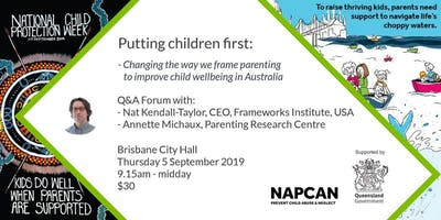 National Child Protection Week Q&A Forum, Brisbane