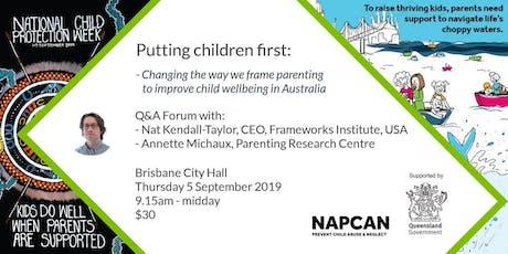 National Child Protection Week Q&A Forum, Brisbane  tickets