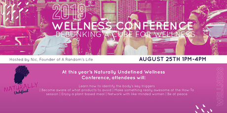 2019 Naturally Undefined Wellness Conference tickets