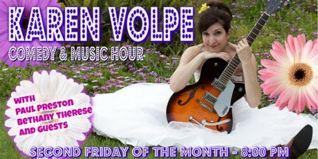 The Karen Volpe Comedy & Music Hour tickets