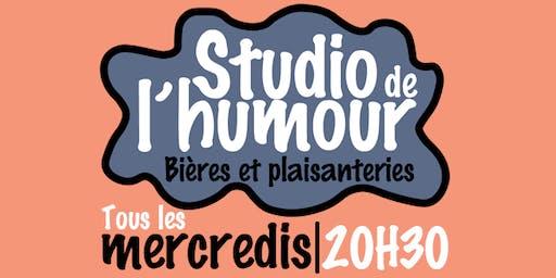Les mercredis Studio de l'humour.
