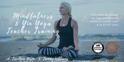 Mindfulness Level 1 Training PERTH Oct 2019 with Tammy Williams RN, ERYT