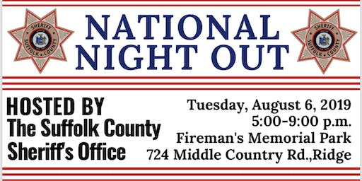 Suffolk County Sheriff's Office National Night Out