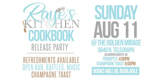 Rayes Kitchen Cookbook Release Party