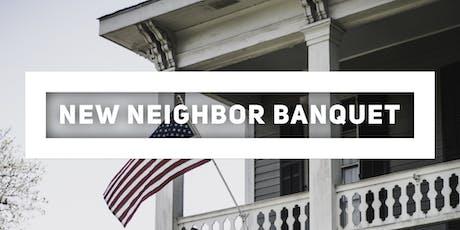 New Neighbor Banquet tickets