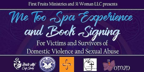 Me Too Spa Experience  and Book Signing tickets