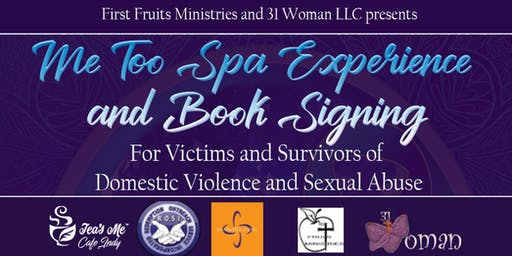 Me Too Spa Experience  and Book Signing