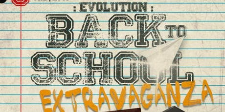 Evolution: A Back 2 School Extravaganza tickets