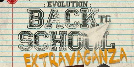 Evolution: A Back 2 School Extravaganza